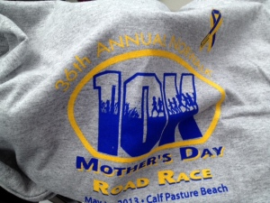Norwalk Mother's Day 10K Shirt